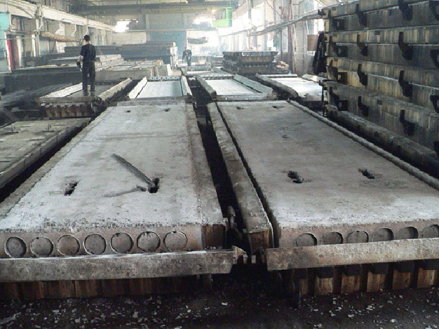 Технология изготовления плит жби конструкция монолитного железобетонного перекрытия